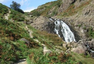 Waterfall on way to Easedale Tarn