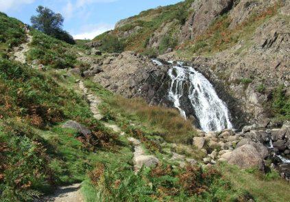 Waterfall on Way to Easedale Tarn