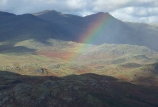 Weather changes over Upper Eskdale
