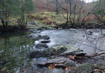 The 'Fickle Steps' across the River Duddon